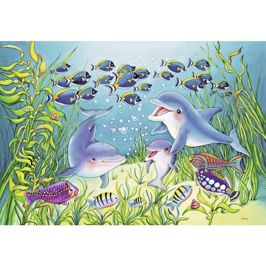Op de bodem van de zee - 2 puzzels van 12 stukjes-3