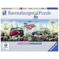 thumb-Met de VW Bulli over de Brennerpas - 1000 stukjes-1