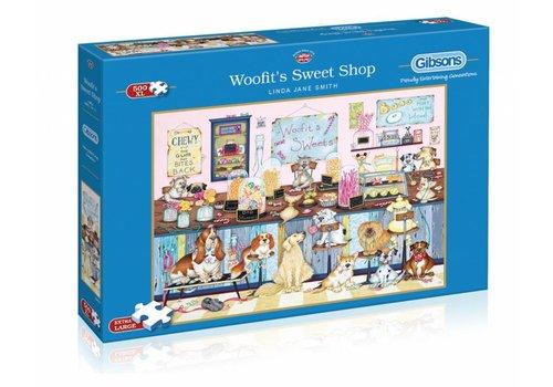 Woefies snoepwinkeltje - 500 XL stukjes