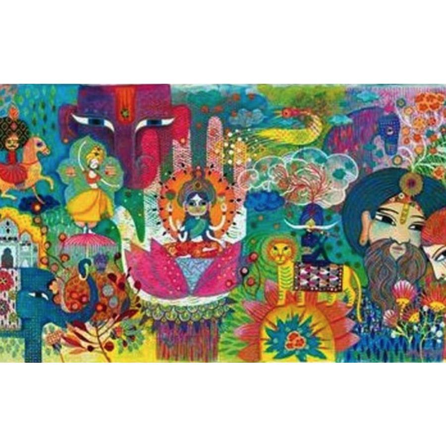 Magisch India - puzzel van 1000 stukjes - Panorama-2