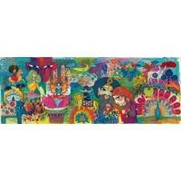 thumb-Magisch India - puzzel van 1000 stukjes - Panorama-1