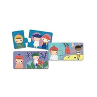 thumb-Duo Puzzle - Emotions - 8 x 2 pièces-2