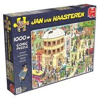 thumb-The Escape - Jan van Haasteren - jigsaw puzzle of 1000 pieces-1