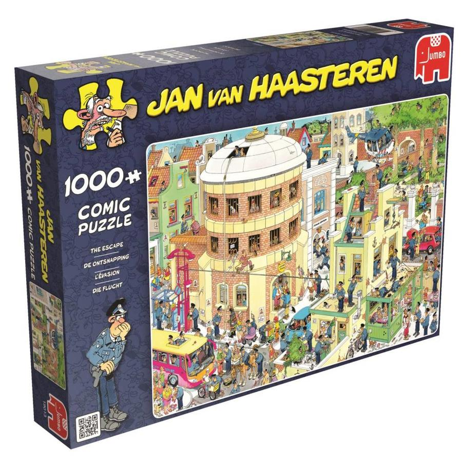 The Escape - Jan van Haasteren - jigsaw puzzle of 1000 pieces-1