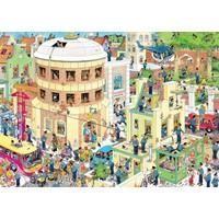 thumb-The Escape - Jan van Haasteren - jigsaw puzzle of 1000 pieces-2
