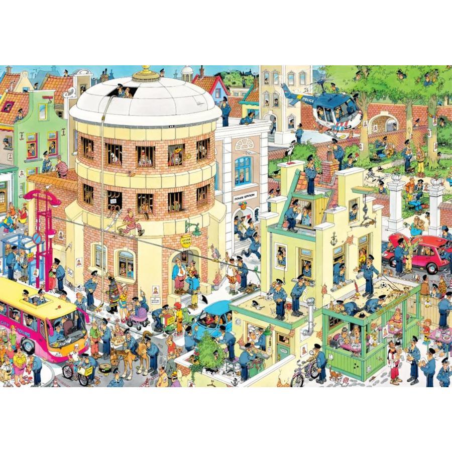 De ontsnapping (The Escape) - Jan van Haasteren - puzzel 1000 stukjes-2