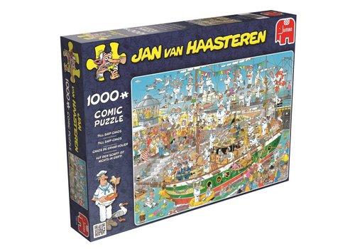 Tall Ship Chaos - JvH - 1000 stukjes