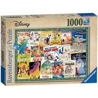 thumb-Disney Vintage Posters  - 1000 stukjes - Exclusiviteit-1