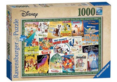 Ravensburger Disney Vintage Posters  - 1000 pièces - Offre exclusive