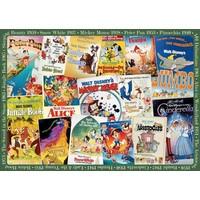 thumb-Disney Vintage Posters  - 1000 stukjes - Exclusiviteit-2