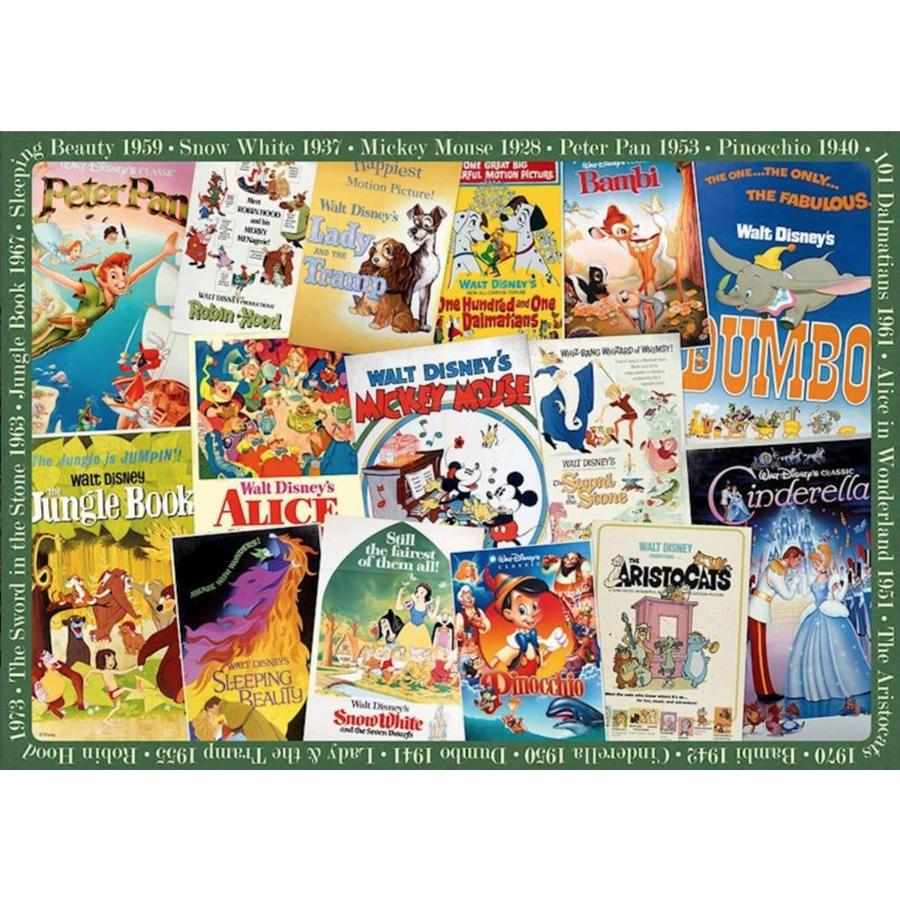 Disney Vintage Posters  - 1000 stukjes - Exclusiviteit-2