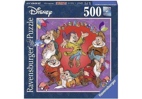 Zeven Dwergen - puzzel 500 stukjes - Exclusiviteit