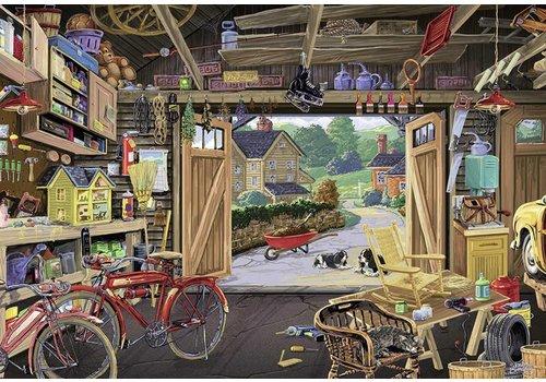 De garage van opa - 300 XXL stukjes - Exclusiviteit