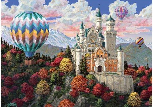 Neuschwanstein dagdroom - 1000 stukjes - Exclusiviteit