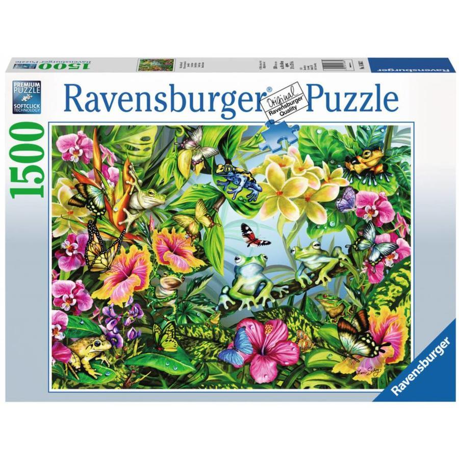 Zoek de Kikkers - puzzel van 1500 stukjes  - Exclusiviteit-2