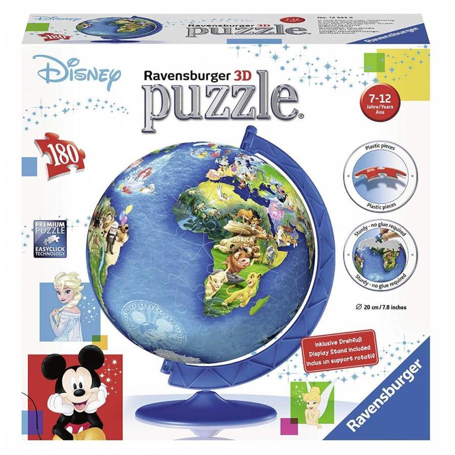 Disney wereldbol - 180 stukjes-1