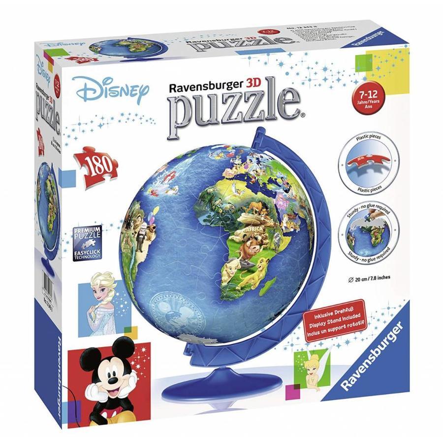 Disney wereldbol - 180 stukjes-2