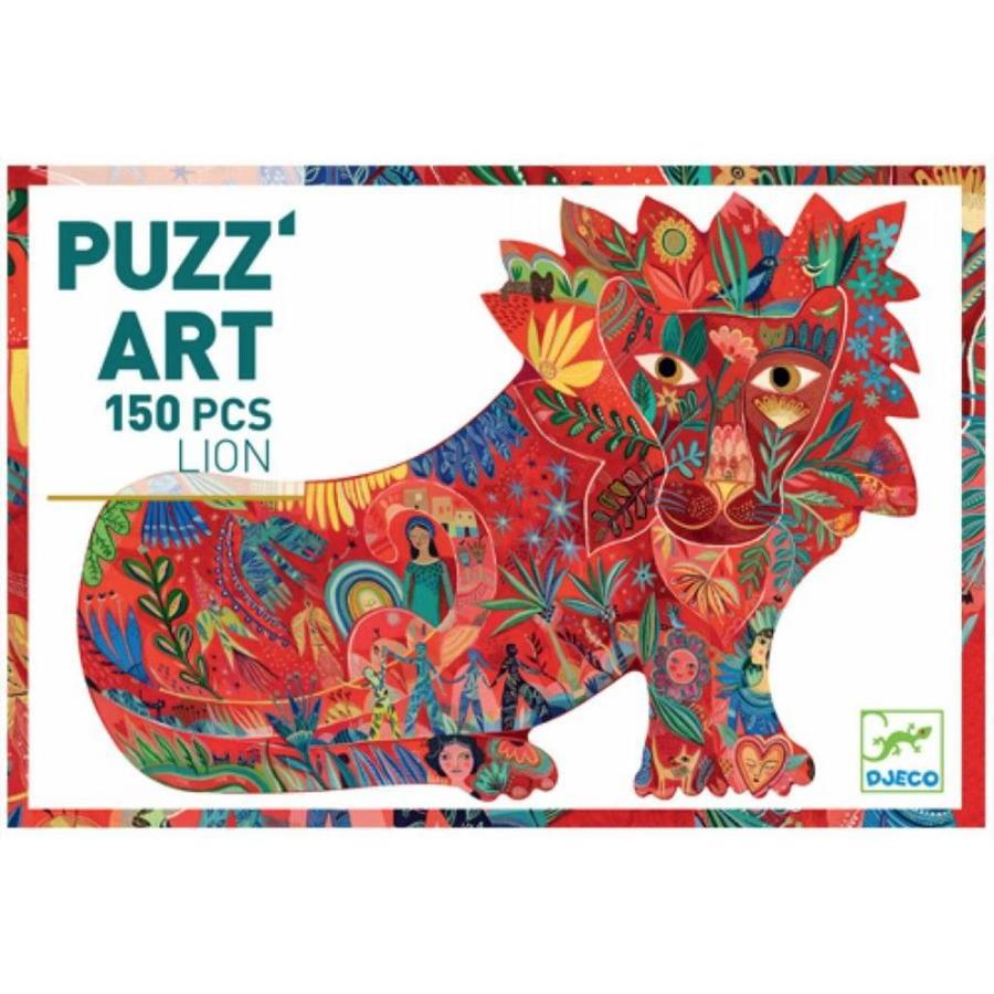 Le lion surprenant - 150 pièces-2