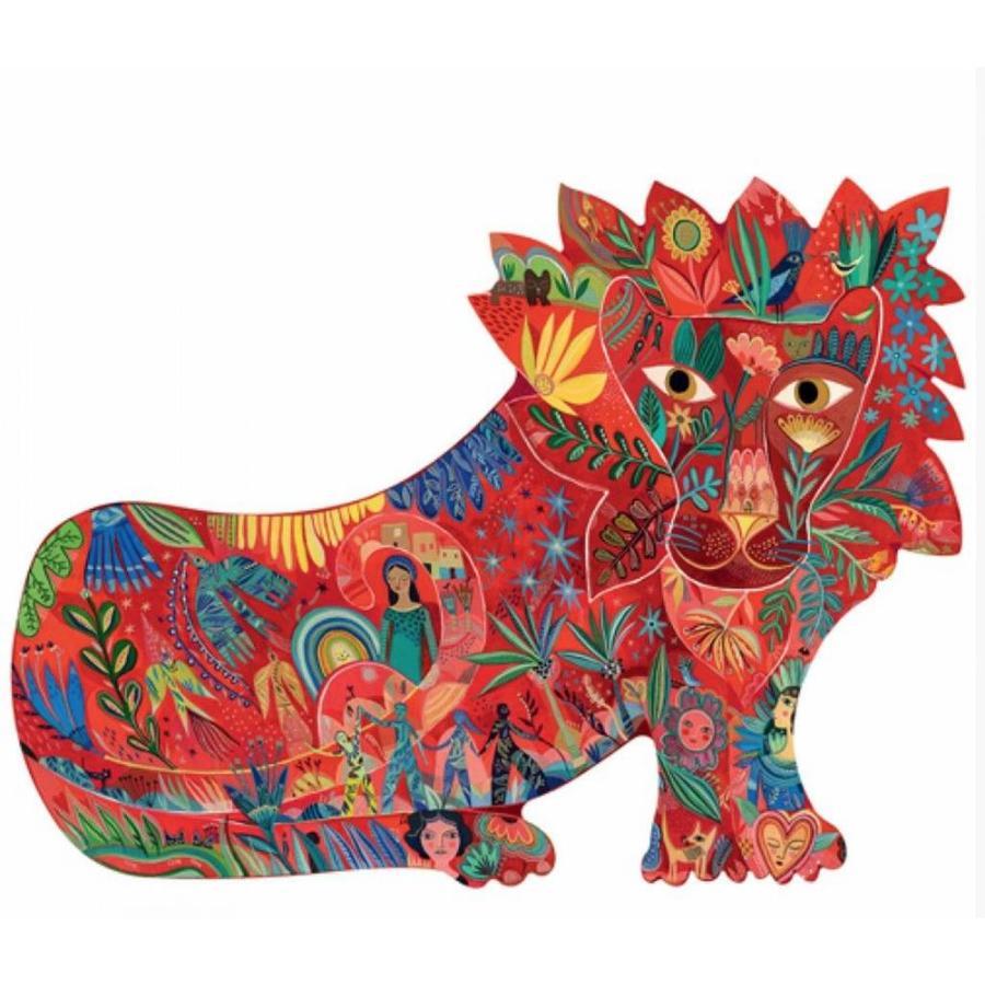 Le lion surprenant - 150 pièces-1