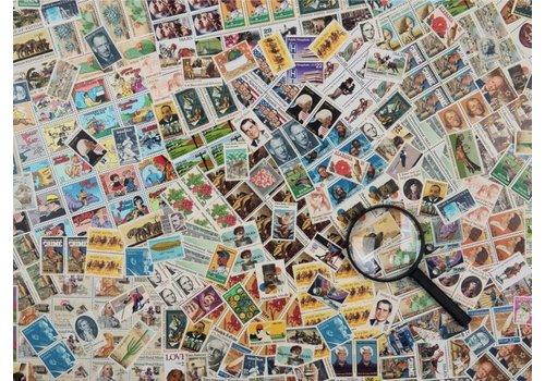 Postzegel Challenge - 500 stukjes - exclusiviteit