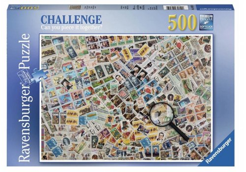 Stamps Challenge - 500 pieces