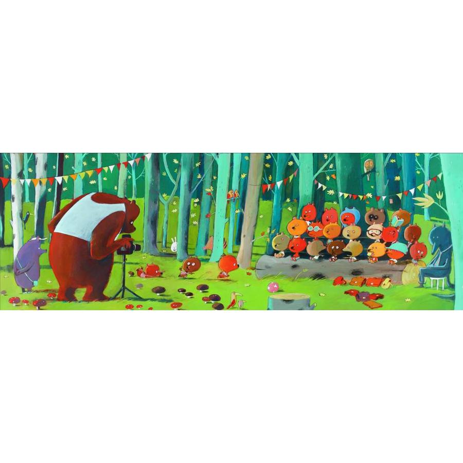 Together on the class picture - jigsaw puzzle of 100 pieces-1