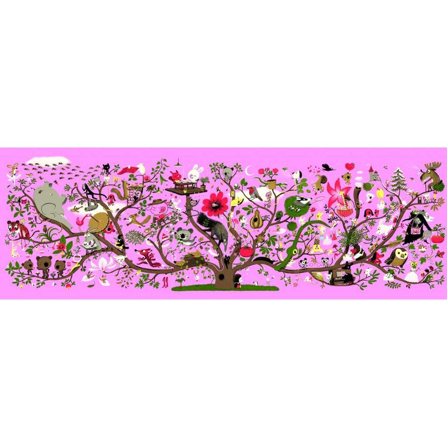 The magic tree - puzzle of 200 pieces-1