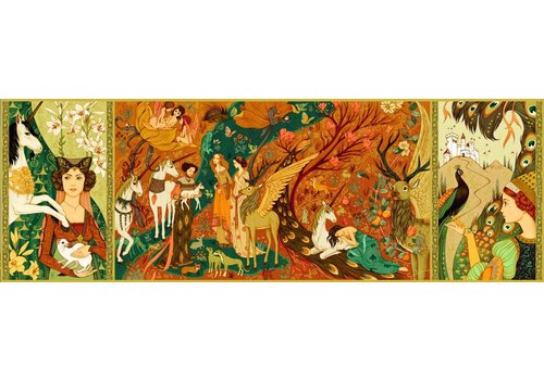 The unicorns garden - 500 pieces