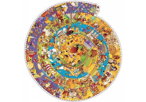 Djeco A round of history - 350 pieces