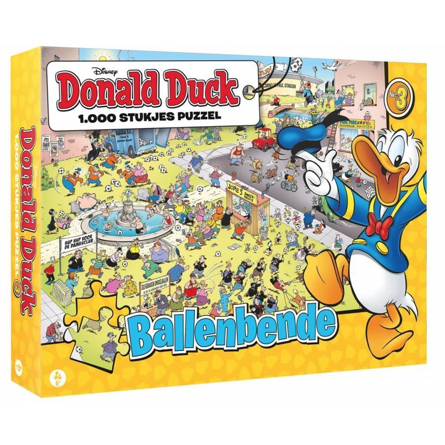 Donald Duck 3 - Ballenbende - legpuzzel van 1000 stukjes-1