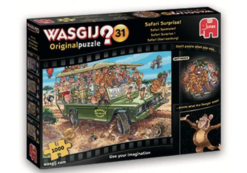 Wasgij Original 31 - Safari Surprise - 1000 pieces