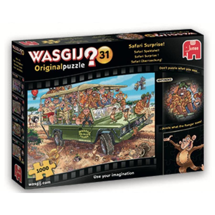 Wasgij Original 31  - Safari Spektakel - 1000 stukjes-1