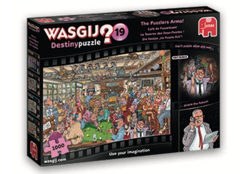 Jumbo Wasgij Destiny 19 - Café des puzzles -  1000 pièces