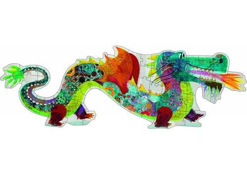 Djeco Leon the Dragon - 58 pieces