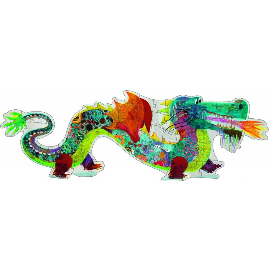 Leon de draak - 58 stukjes-1