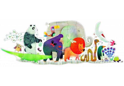 Le défilé des animaux géants - 36 pièces