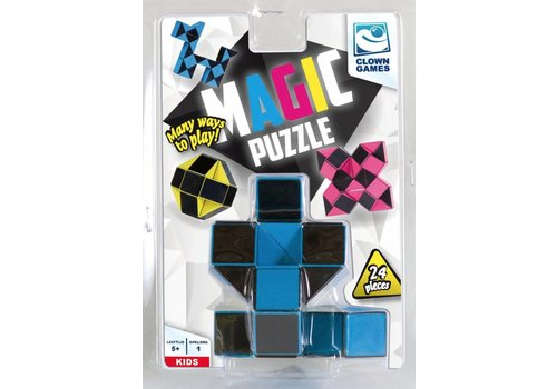 Clown Games Magic Puzzle 3D blue - 24 parts