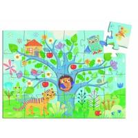 thumb-La chouette et le hibou - puzzle de 24 pièces-2