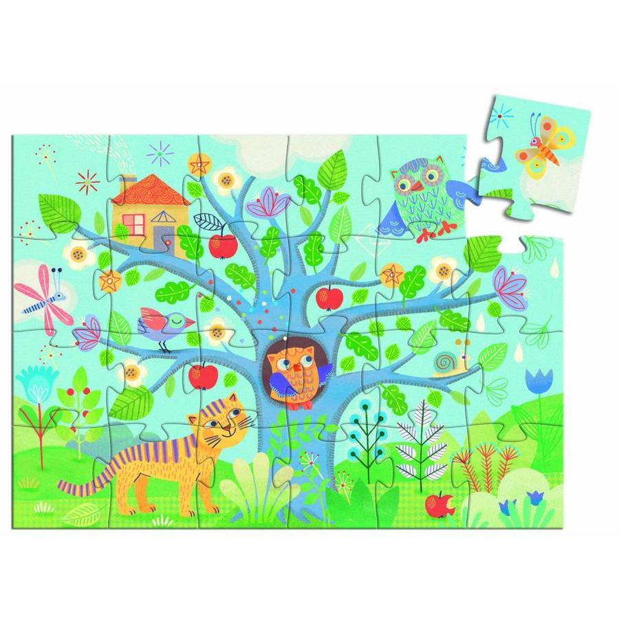 La chouette et le hibou - puzzle de 24 pièces-2