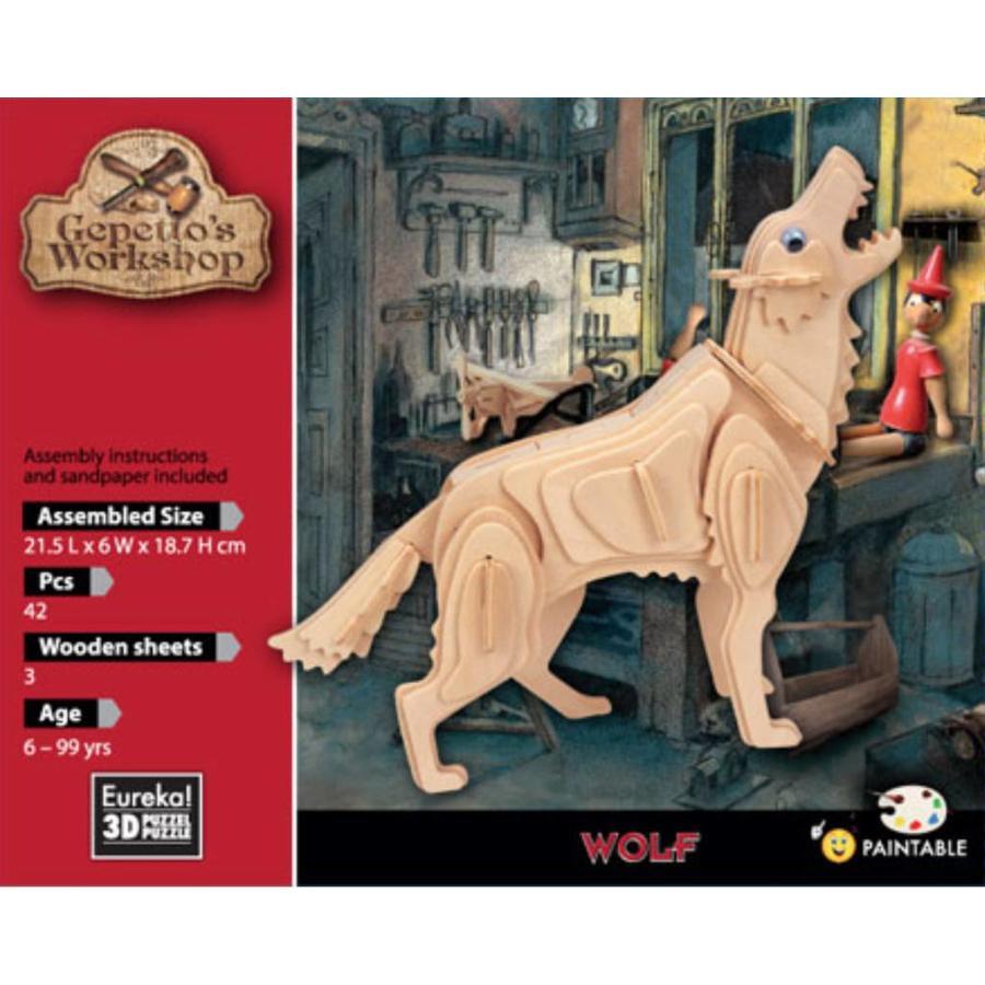 Wolf - Gepetto's Workshop - 3D puzzel-2