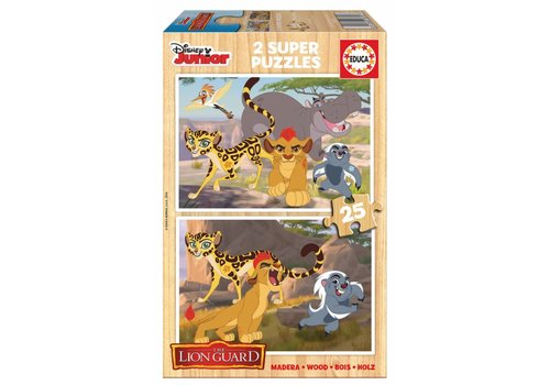 WOOD: The lion guard - 2 x 25 pieces