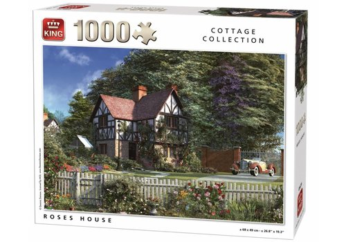 Roses house - 1000 pieces