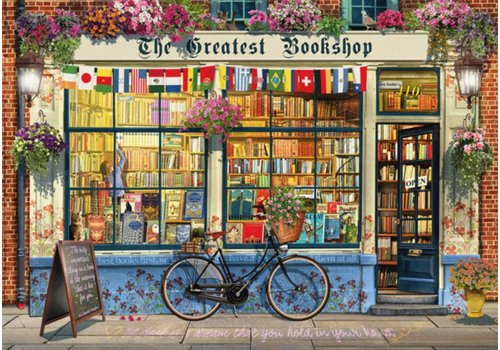 La librairie - 1000 pièces