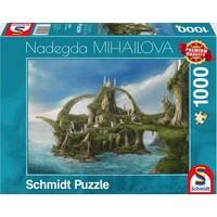 thumb-Île aux cascades  - Nadegda Mihailova - puzzle de 1000 pièces-2