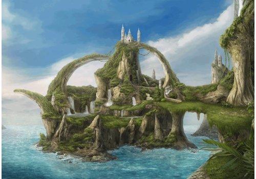 Watervallen eiland - 1000 stukjes