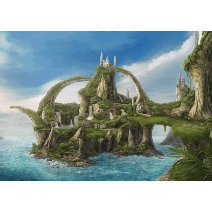 Île aux cascades  - Nadegda Mihailova - puzzle de 1000 pièces-1