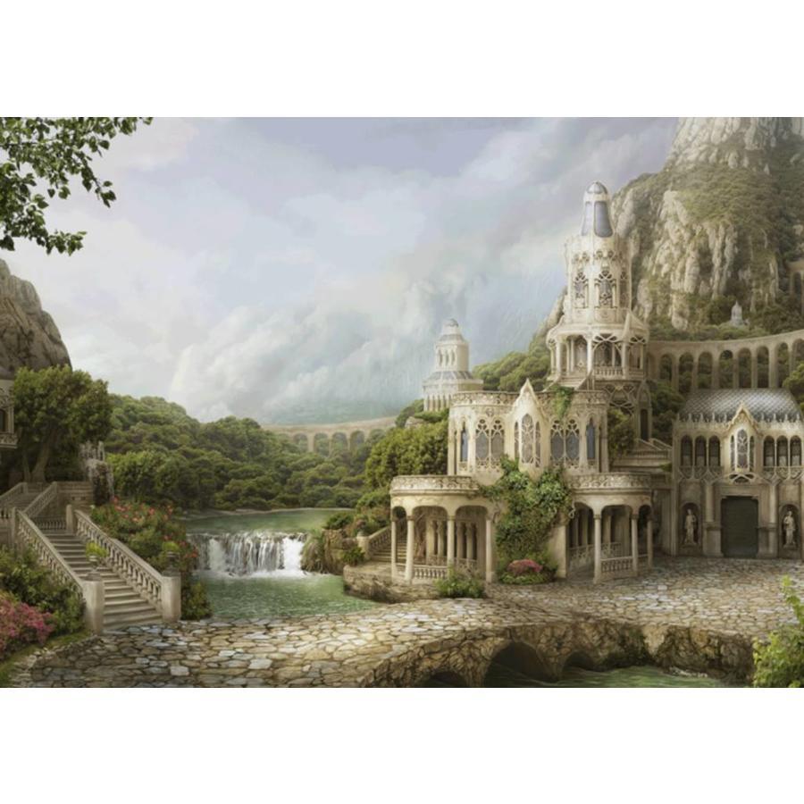 Paleis in de bergen - Nadegda Mihailova - puzzel van 1000 stukjes-1