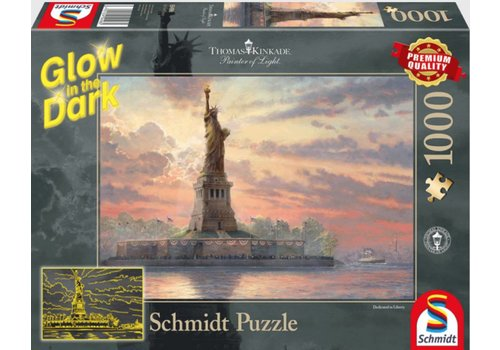 The Statue of Liberty - Glow in the Dark  1000 pieces