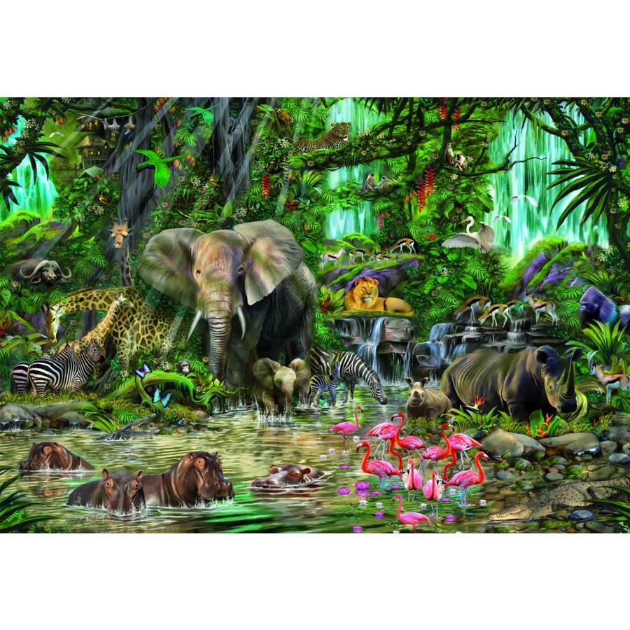 Jungle africaine - 2000 pièces-1