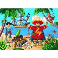 thumb-De piraat en z'n schat - puzzel van 36 stukjes-2